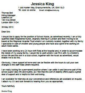 Teacher application cover letter examples
